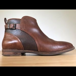 UGG Australia Demi Ankle Boot with Rear Buckle